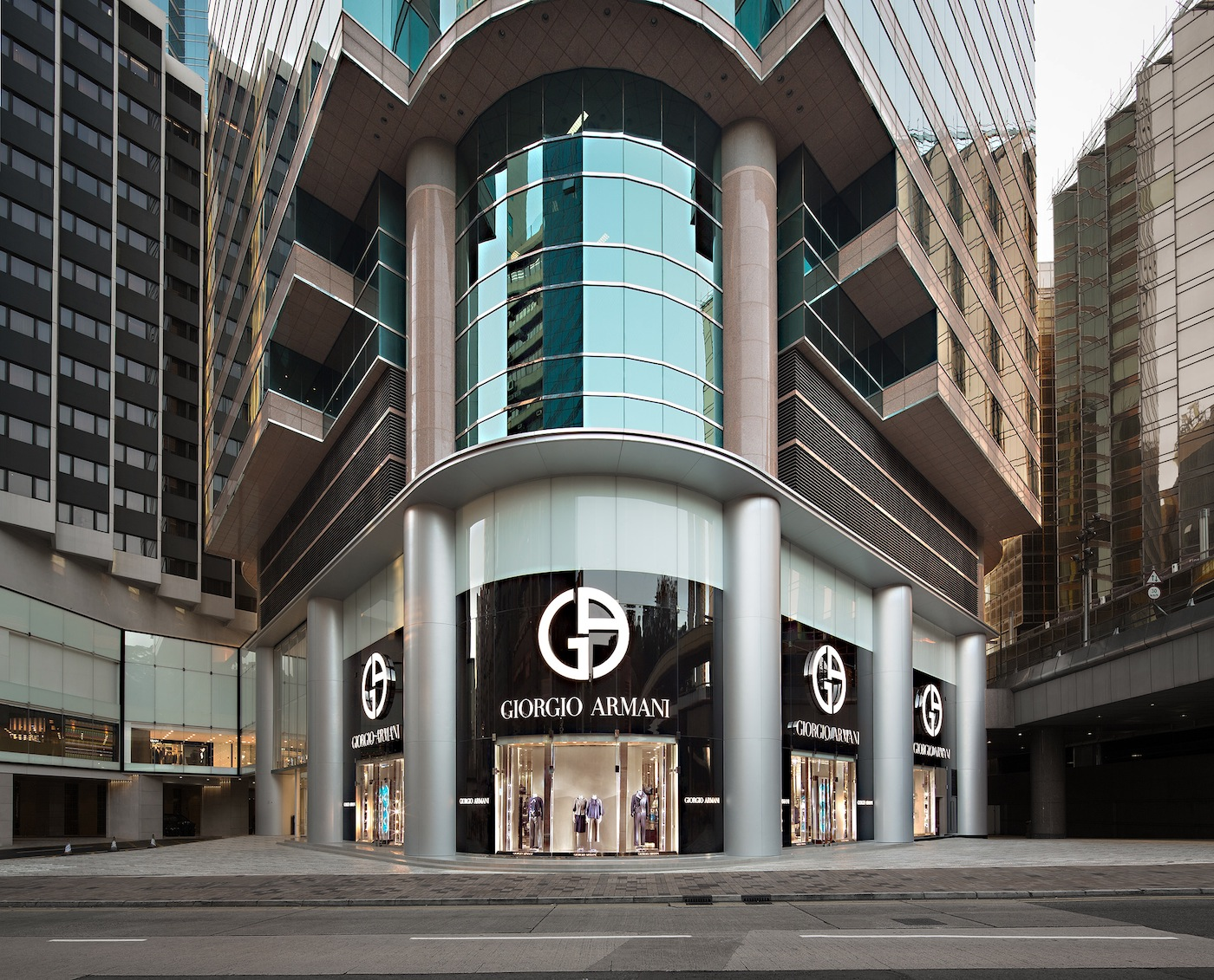 Giorgio Armani Opens A New Boutique In Hong Kong The