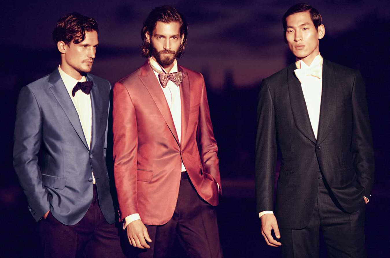 Sam Webb, Maximiliano Patane & Jae Yoo are Stylish Gentlemen for Brioni's Spring/Summer 2013 Lookbook