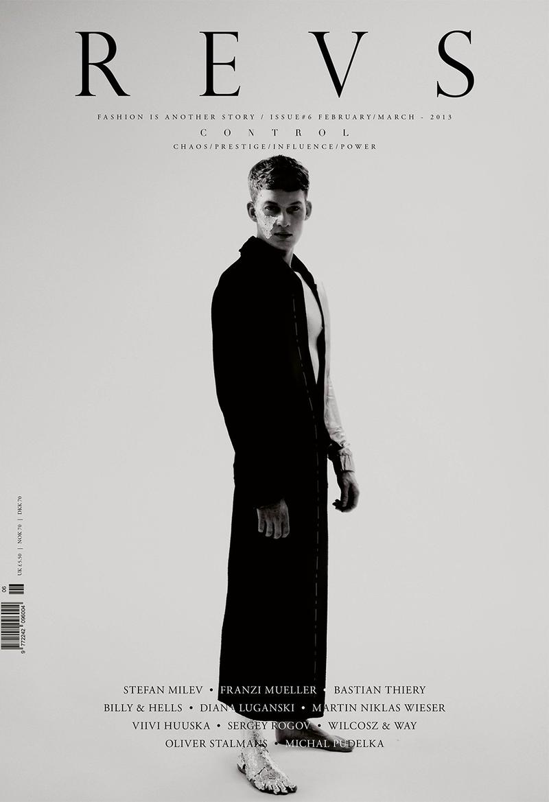 Bastian Thiery is in Control on the Cover of REVS Magazine