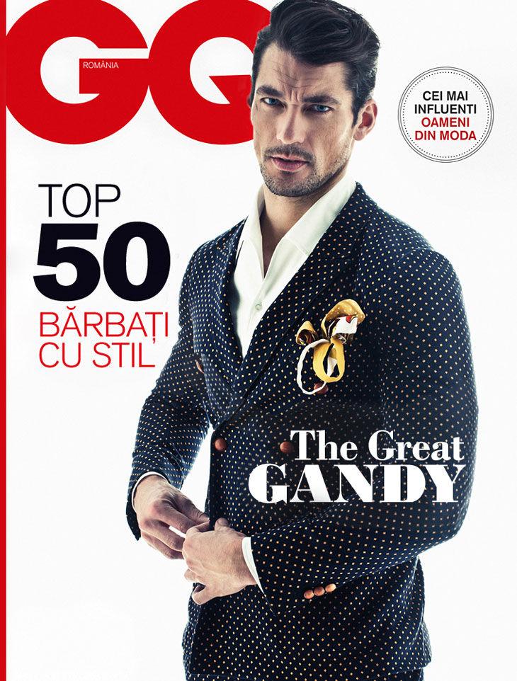 A Polished David Gandy Covers GQ Romania