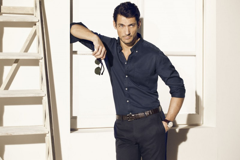 David Gandy Exudes Modern Refinement For Massimo Dutti S