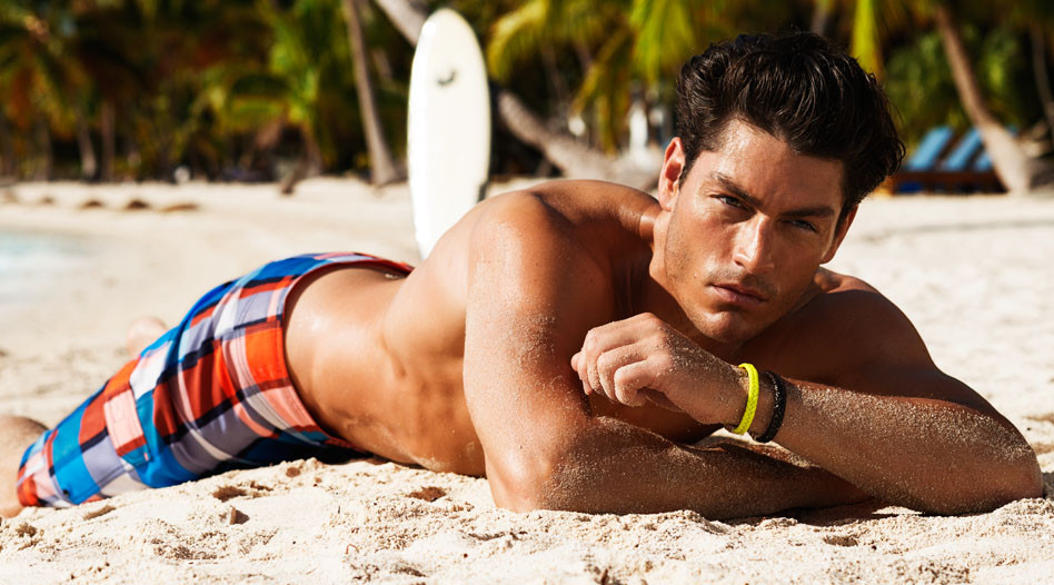 Tyson Ballou Finds a Summer Escape with H&M's Beachwear