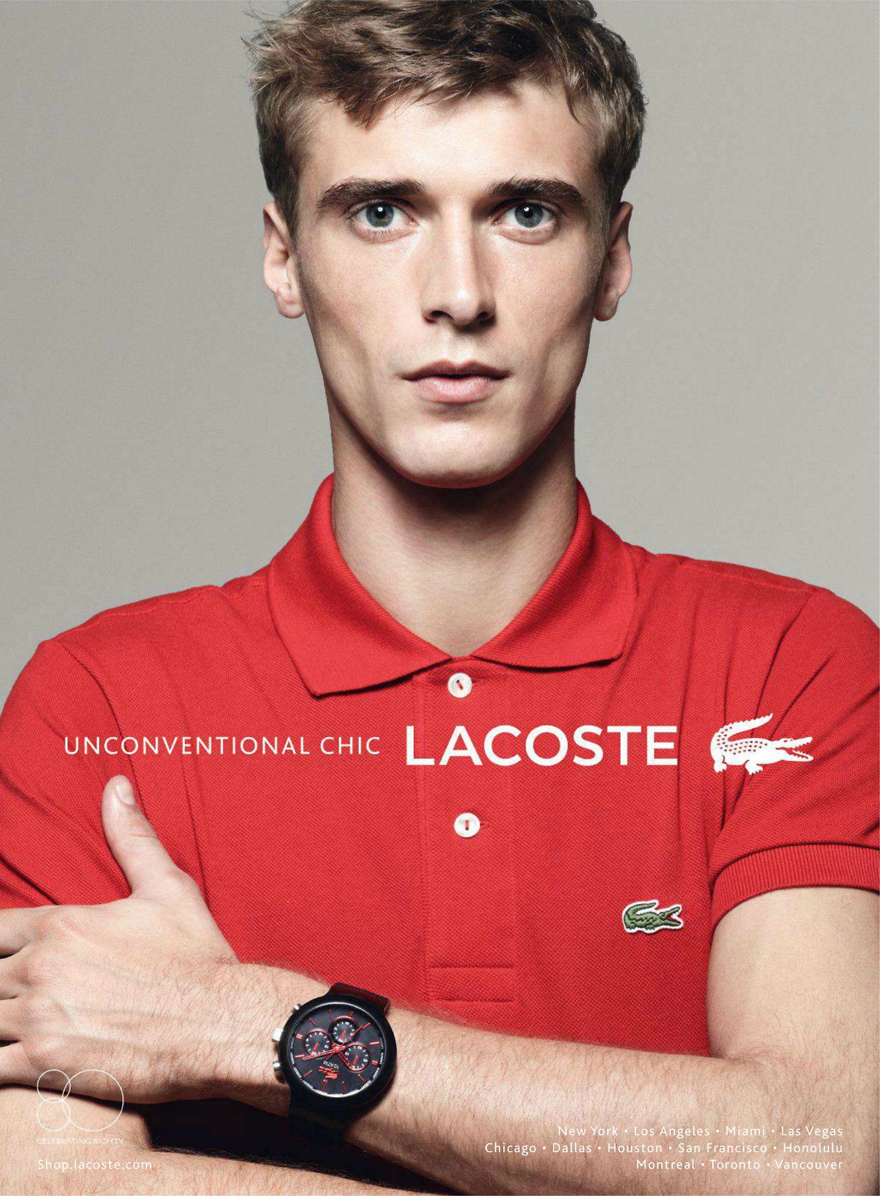 80e13f2b9b98 Lacoste Taps Clément Chabernaud for its Spring Summer 2013 Watches Campaign