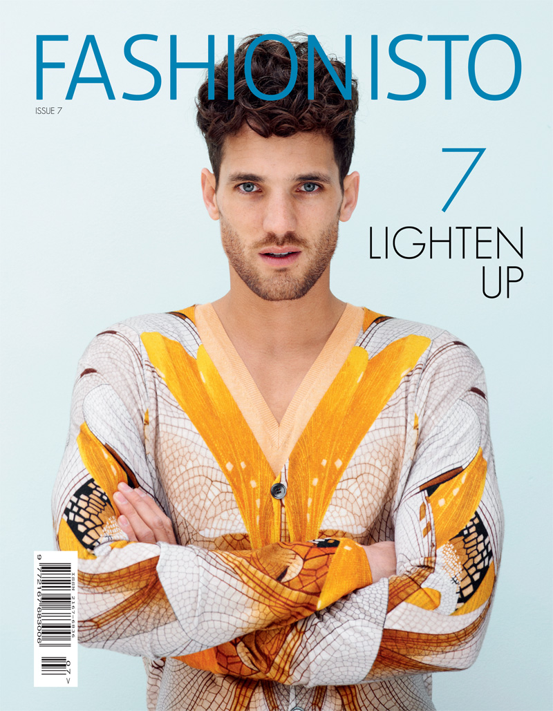 Max Rogers by Ben Harries for Fashionisto #7 Cover