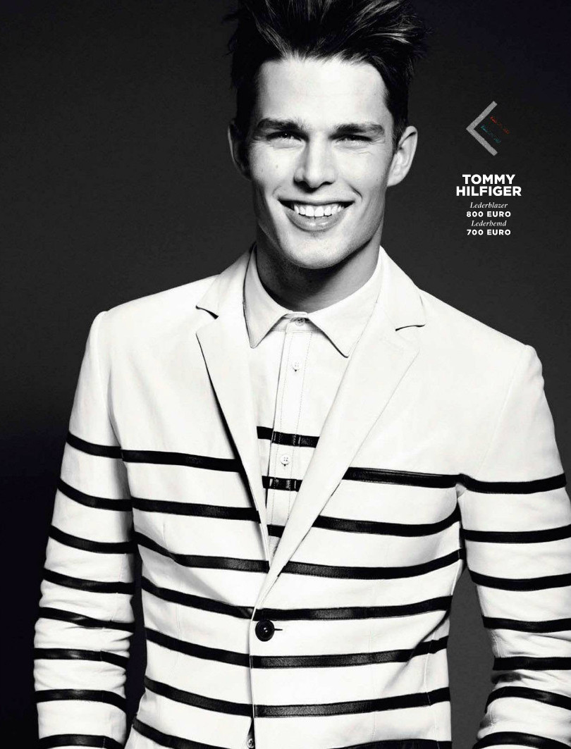 Nils Butler Embraces Spring Styles for GQ Germany