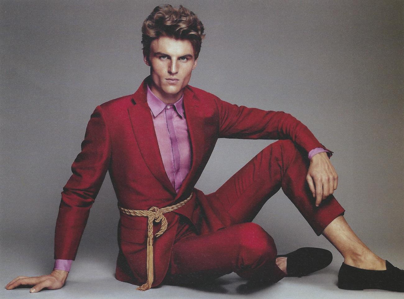 Reid Prebenda Models Spring Suits for Hercules