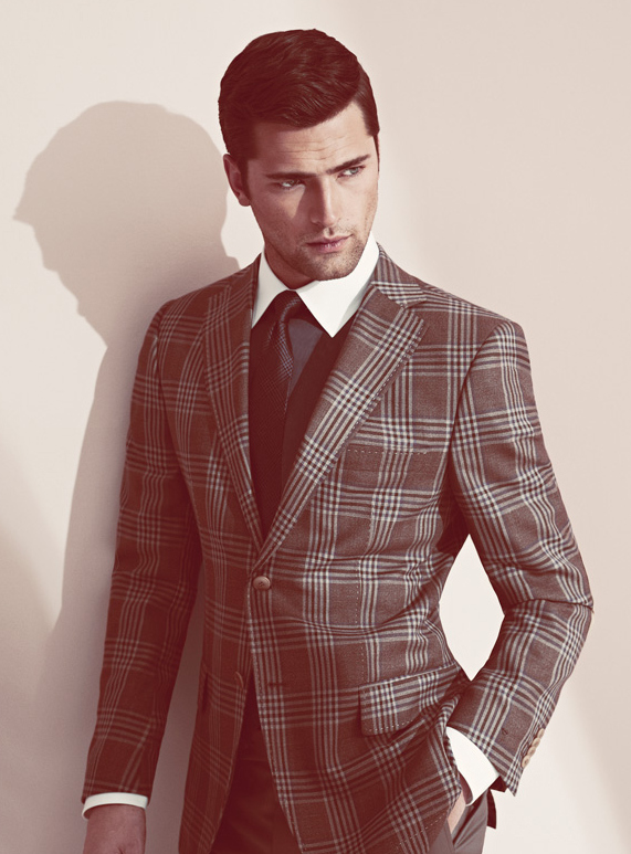 Sean O Pry Suits Up For Sarar S Spring Summer 2013