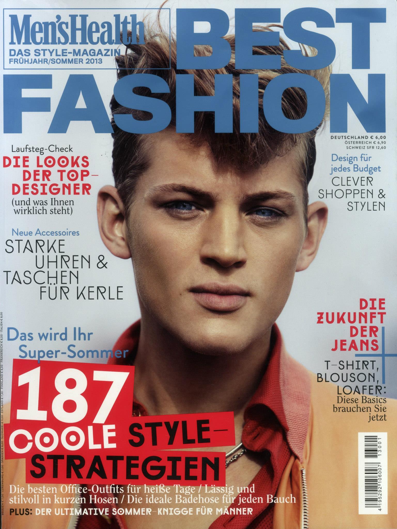 Sebastian Sauv 233 Covers Men S Health Best Fashion Germany S
