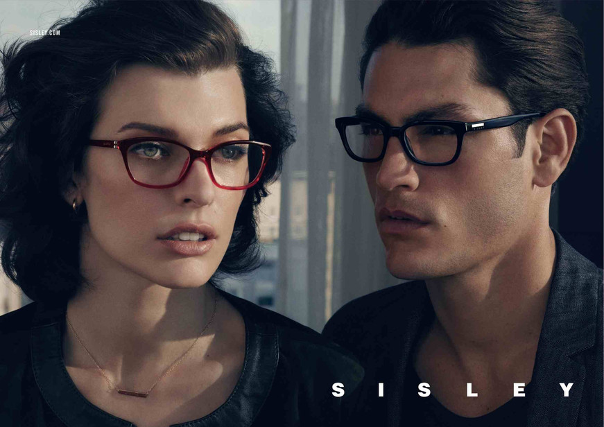 Tyson Ballou Charms in Sisley's Spring/Summer 2013 Eyewear Campaign