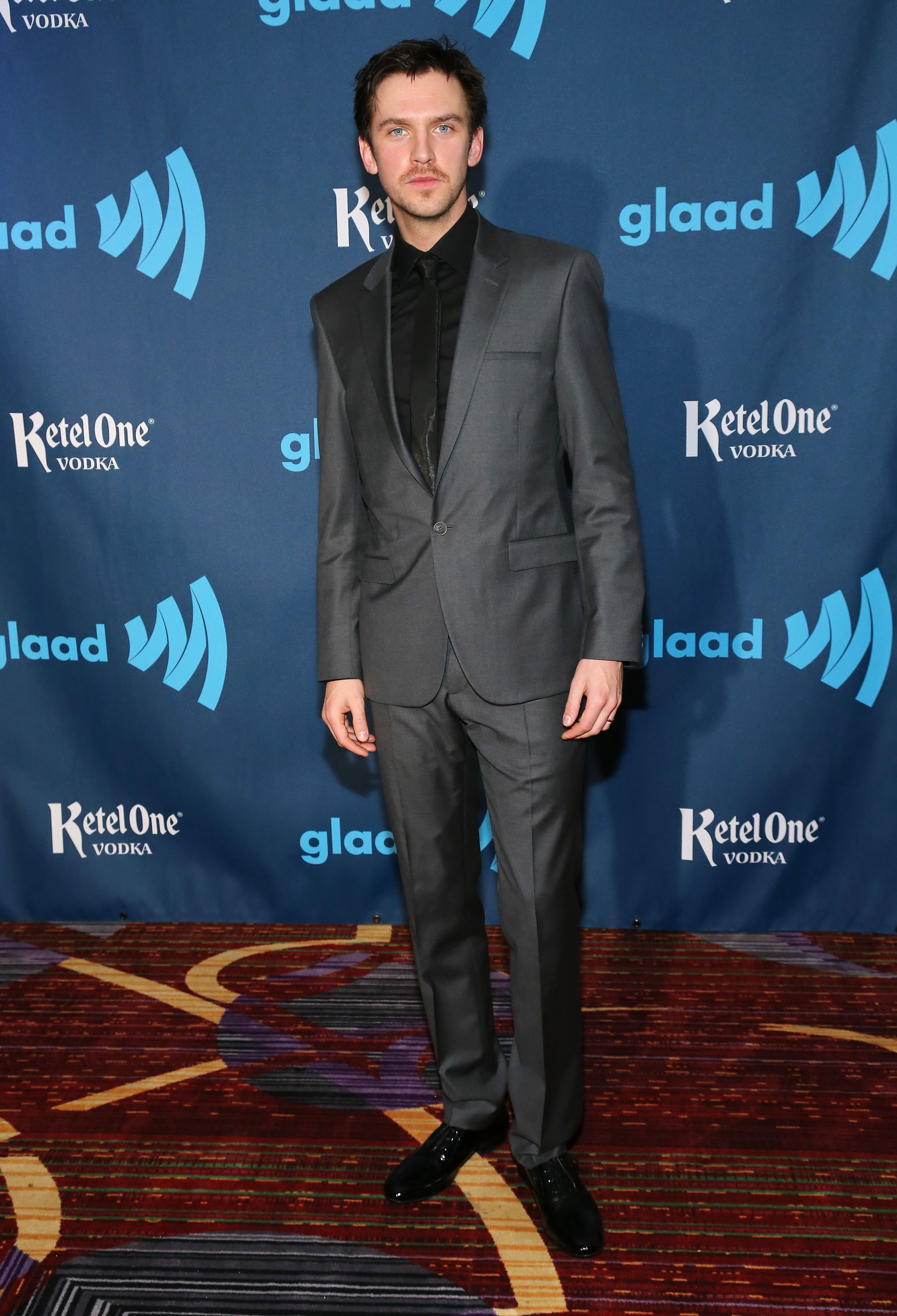 Calvin Klein Outfits Dan Stevens for the 24th Annual GLAAD Media Awards