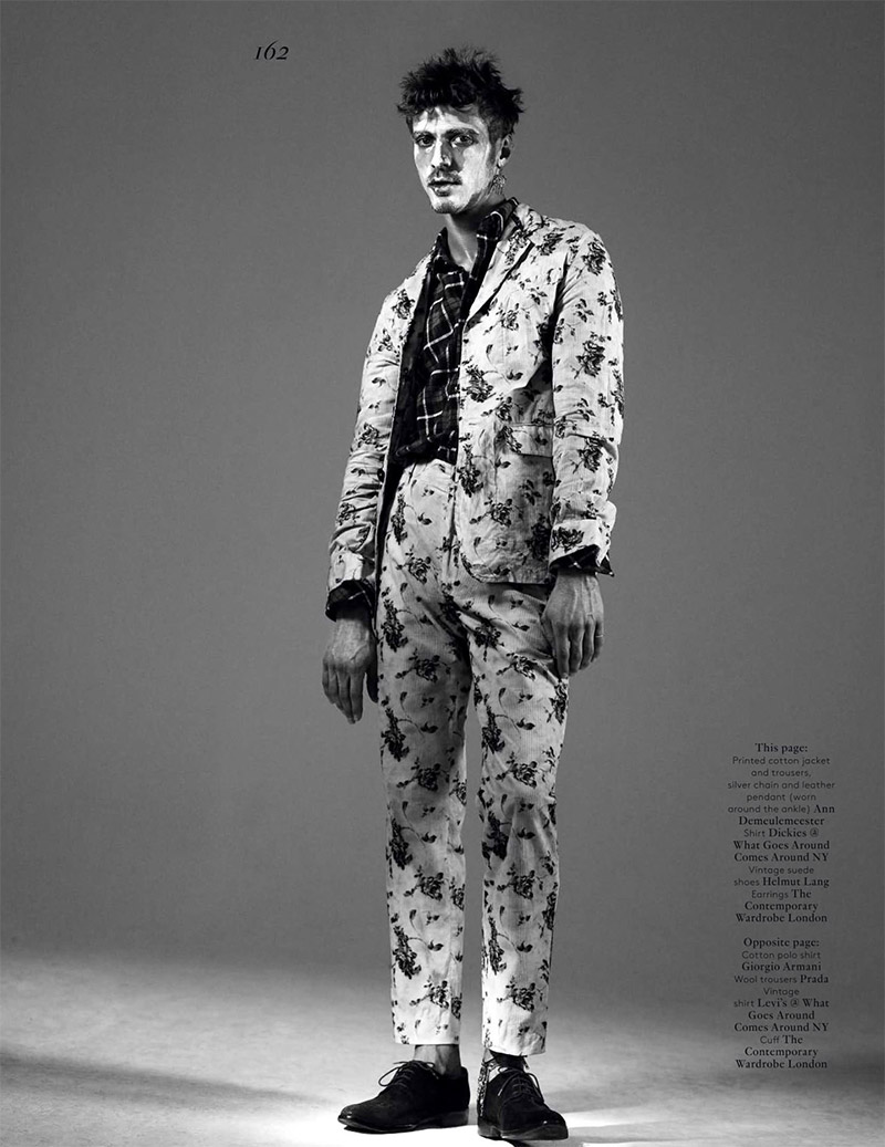 Clement Chabernaud, George Barnett & More Hit a Quirky Stride for Vogue Hommes International