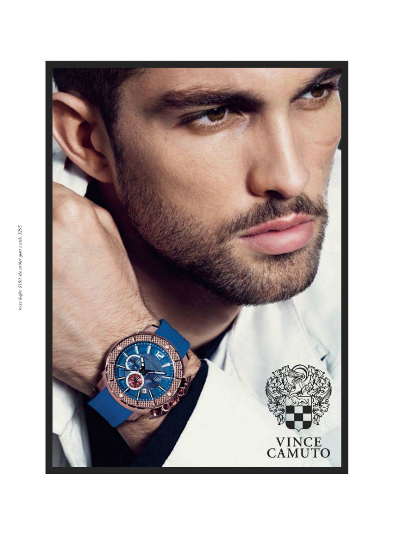 Just In Time Delivering A Contemplative And Ealing Close Up Tobias Sørensen Ears Vince Camuto S Spring Summer 2017 Watches Campaign