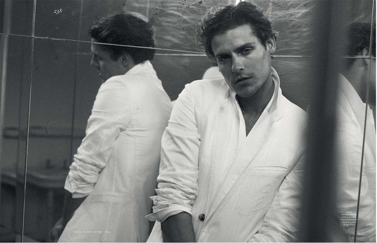 Peter Lindbergh Captures Actor Carloto Cotta for Vogue Hommes International