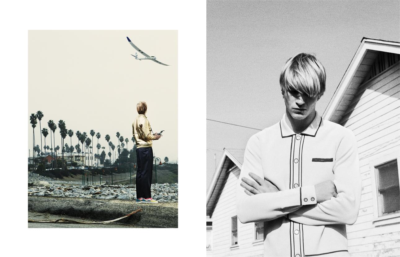 Julia Noni Photographs Jesse Shannon for Obsession Magazine