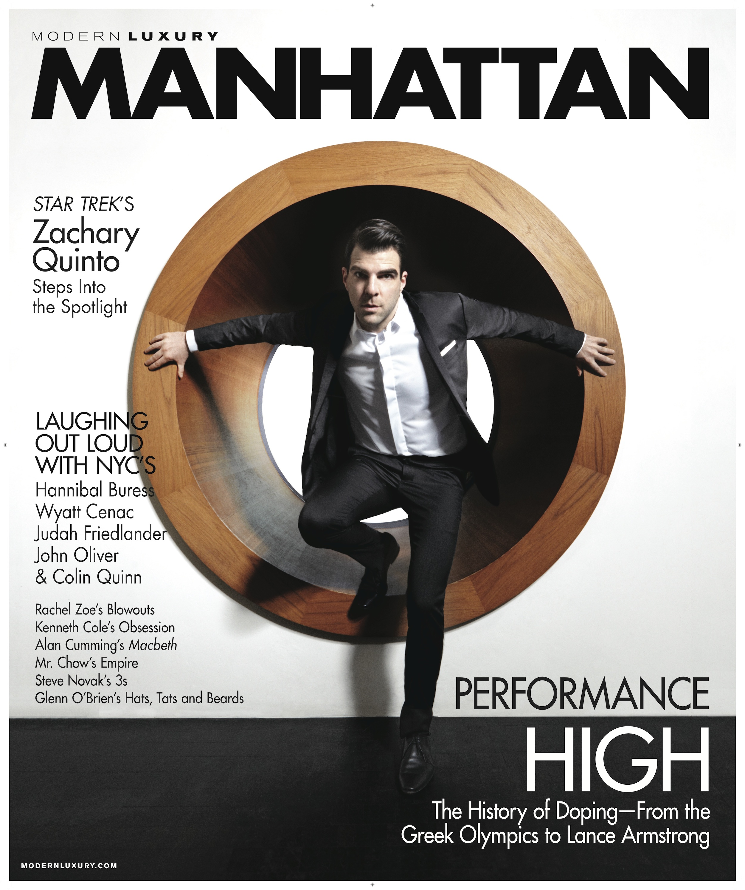 Zachary Quinto Covers Manhattan Magazine | The Fashionisto