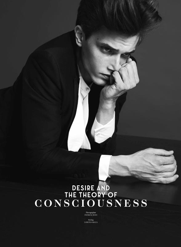 Jakob Wiechmann Dons H&M's Conscious Collection for Sleek Magazine