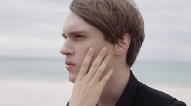 A Les Hommes Clad Stefan Knezevic Stars in The Greatest's Fashion Film