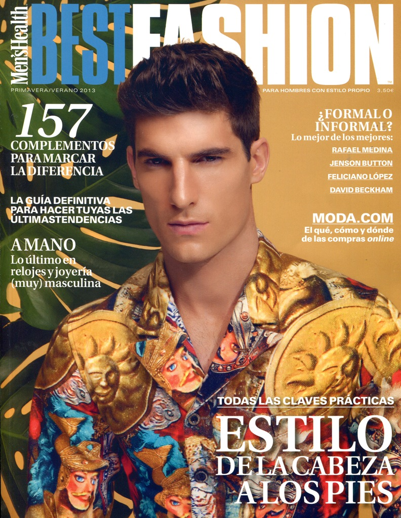 Ryan Barrett Snags the Spanish Cover of Men's Health - Best Fashion