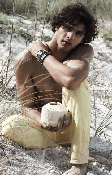 Marlon Teixeira Stars in Armani Exchange's Spring/Summer 2013 Watches Campaign