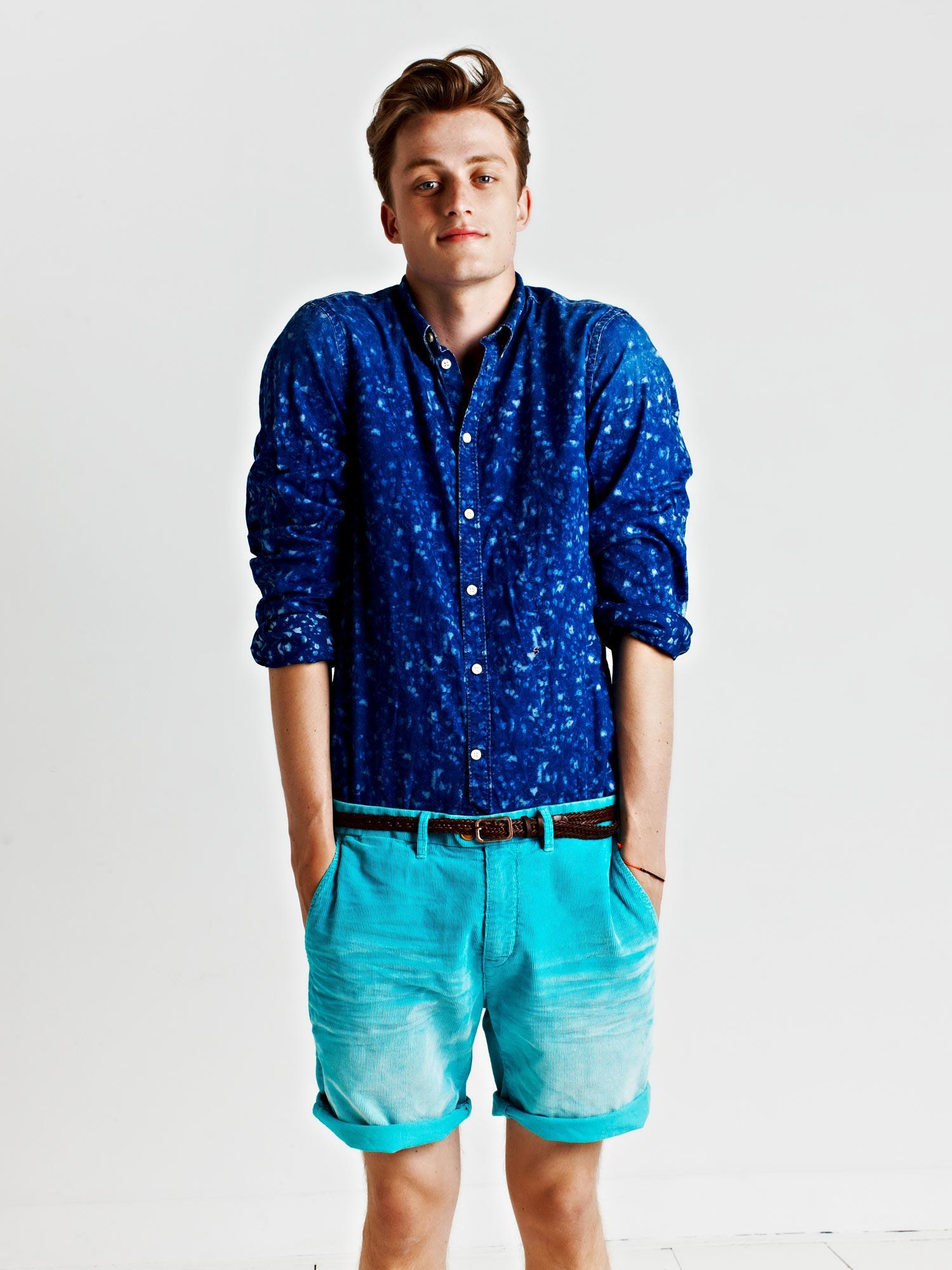 Bastiaan Van Gaalen Appears in Scotch & Soda's Spring/Summer 2013 Lookbook