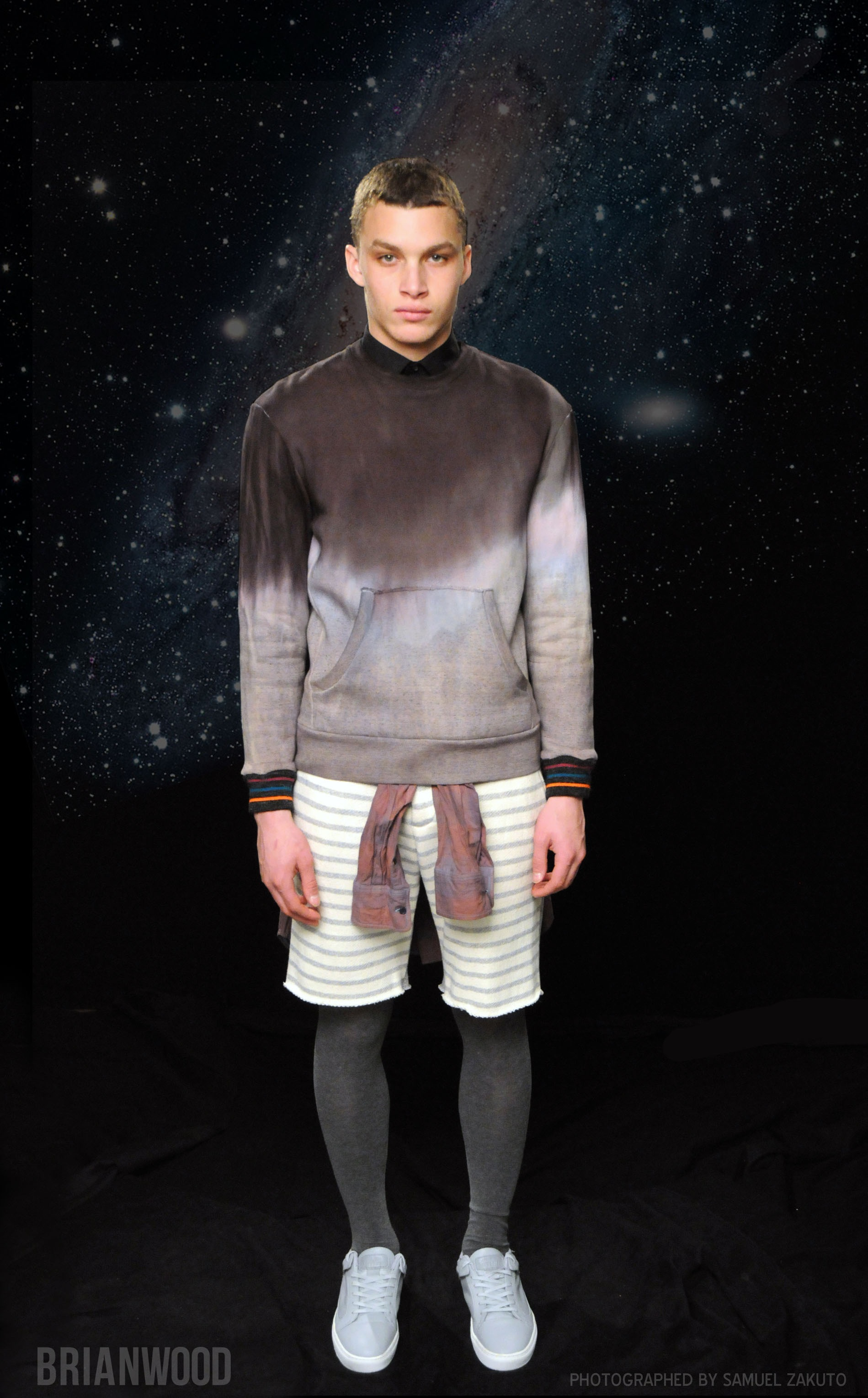 Brian Wood Takes to the Galaxies for their Fall/Winter 2013 Collection