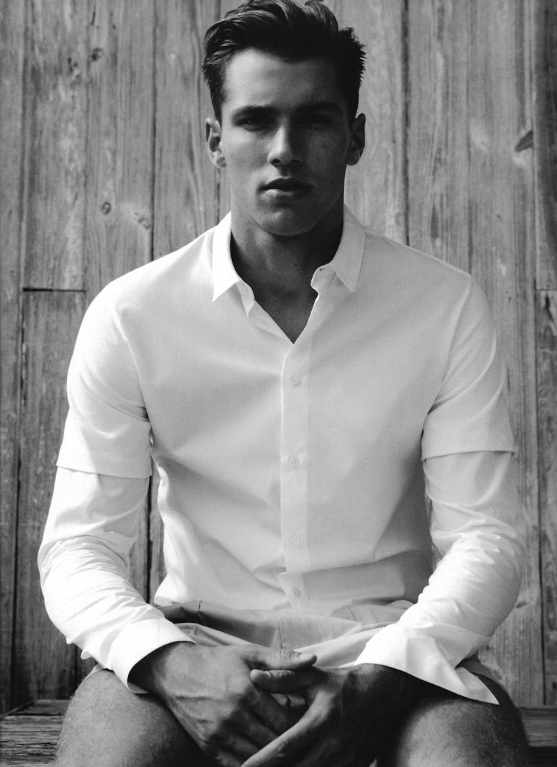 Kacey Carrig Stuns In Black Amp White For Fashion For Men