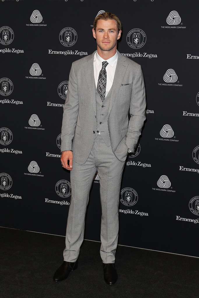 Chris Hemsworth Helps Ermenegildo Zegna & Woolmark Company Celebrate Australian Wool Growers