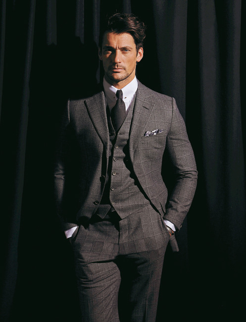 David Gandy Suits Up for Madame Figaro's Cover Shoot