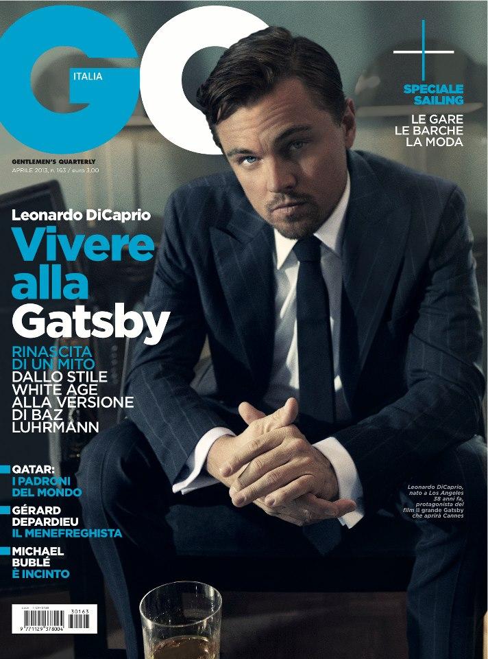 Leonardo DiCaprio Covers GQ Italia's April 2013 Issue in Brunello Cucinelli