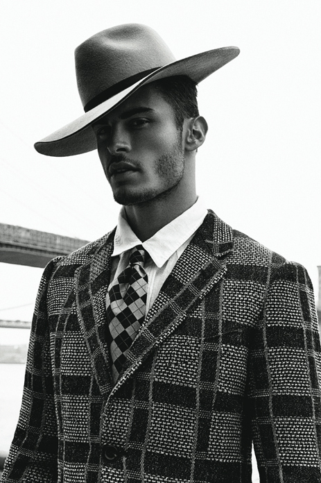 Baptiste Giabiconi Poses for Jack Waterlot for DSection