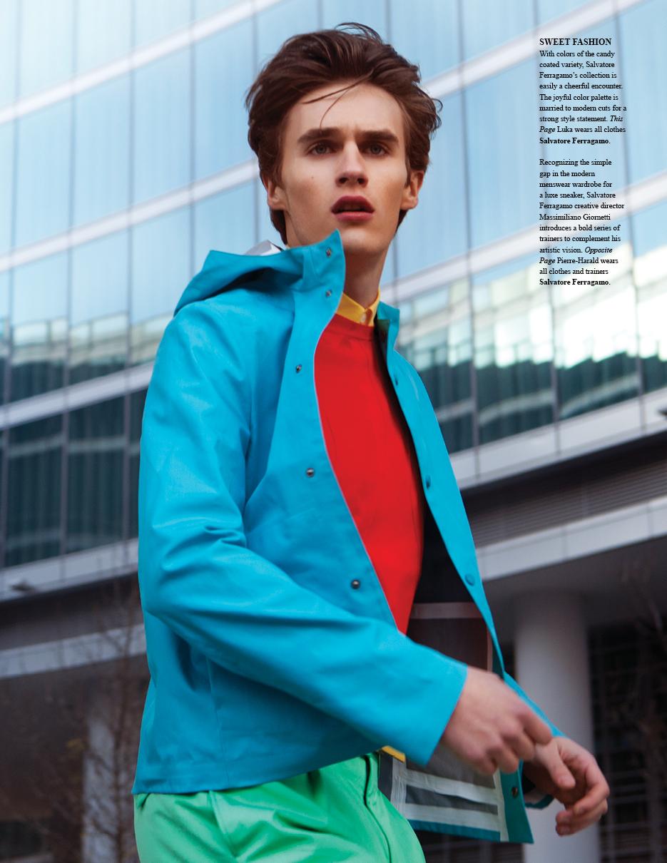 Luka Badnjar & Pierre-Harald Leducq Don Salvatore Ferragamo's Spring/Summer 2013 Collection for Fashionisto #7