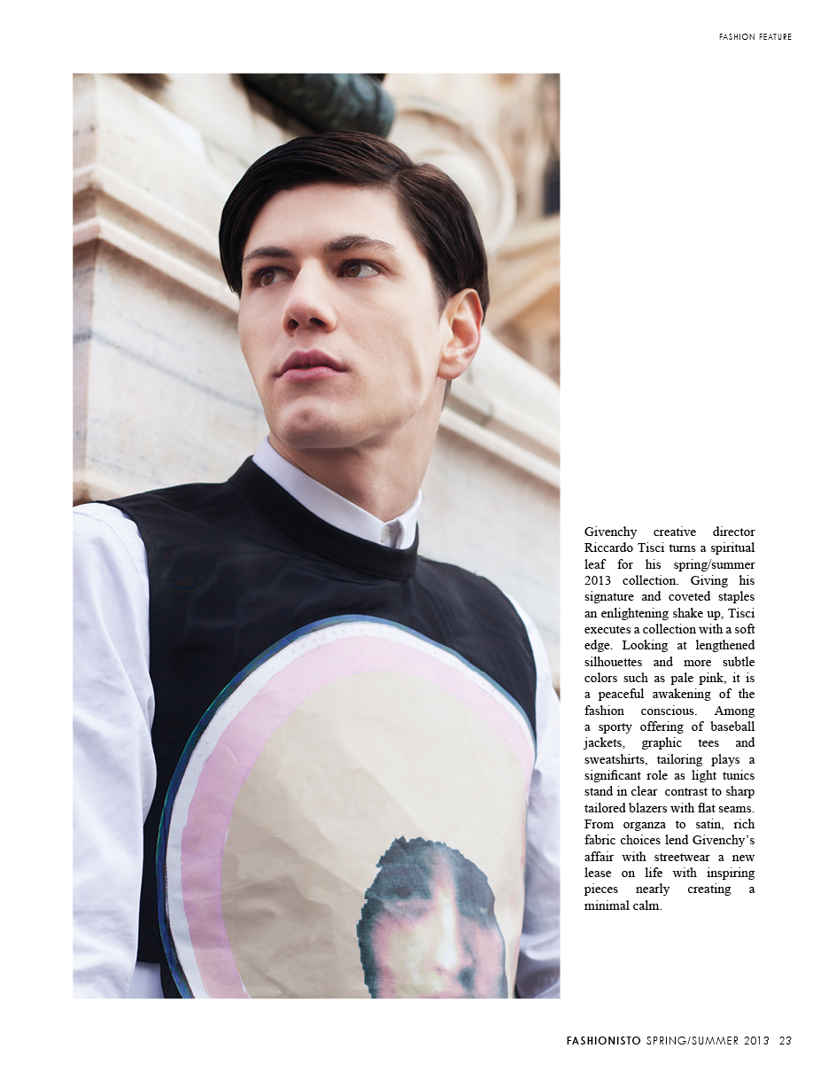Simone Nobili by Jay Schoen in Givenchy Spring/Summer 2013 for Fashionisto #7