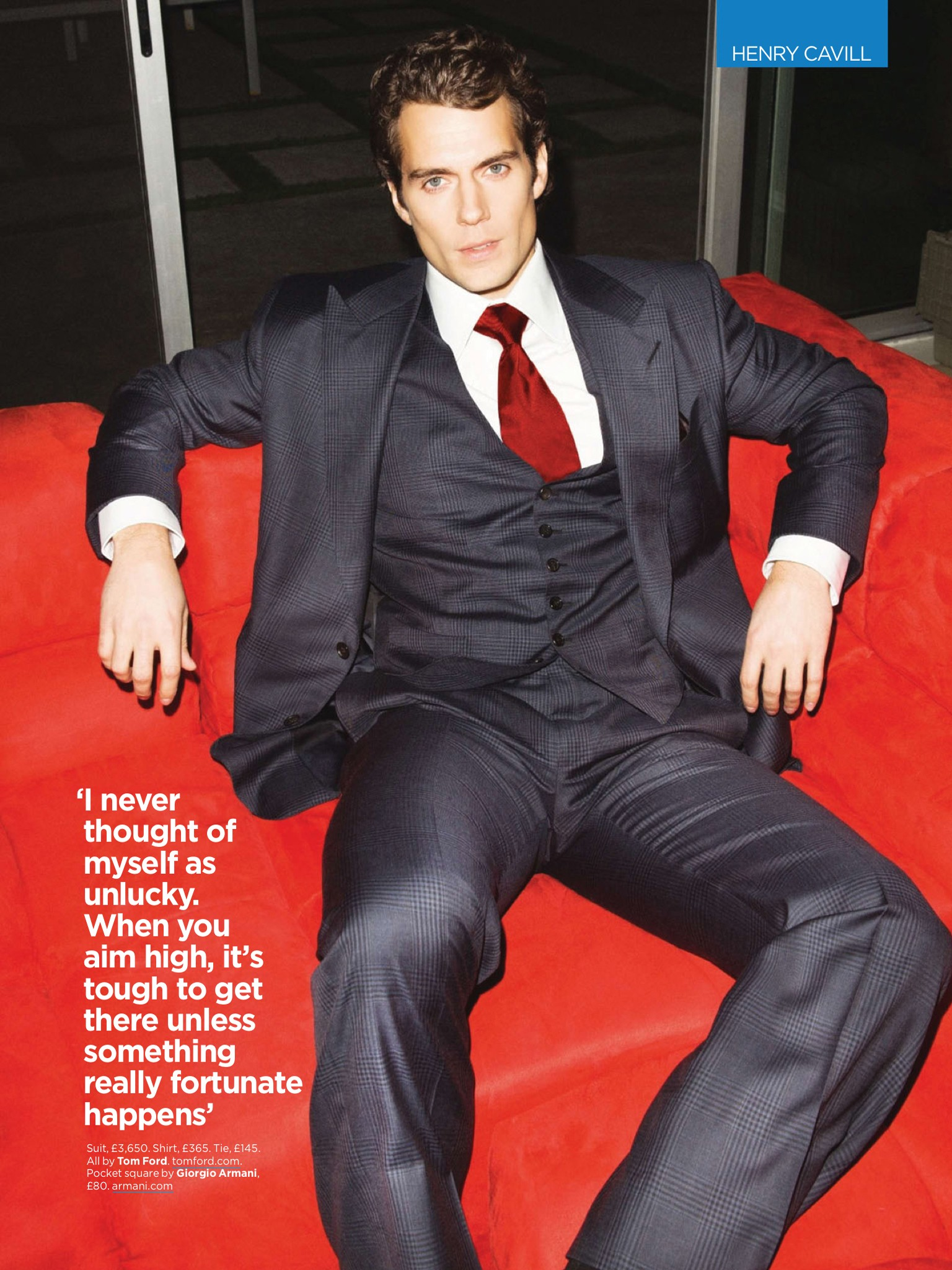 Henry Cavill On The Cover Of British Gq Magazine S June