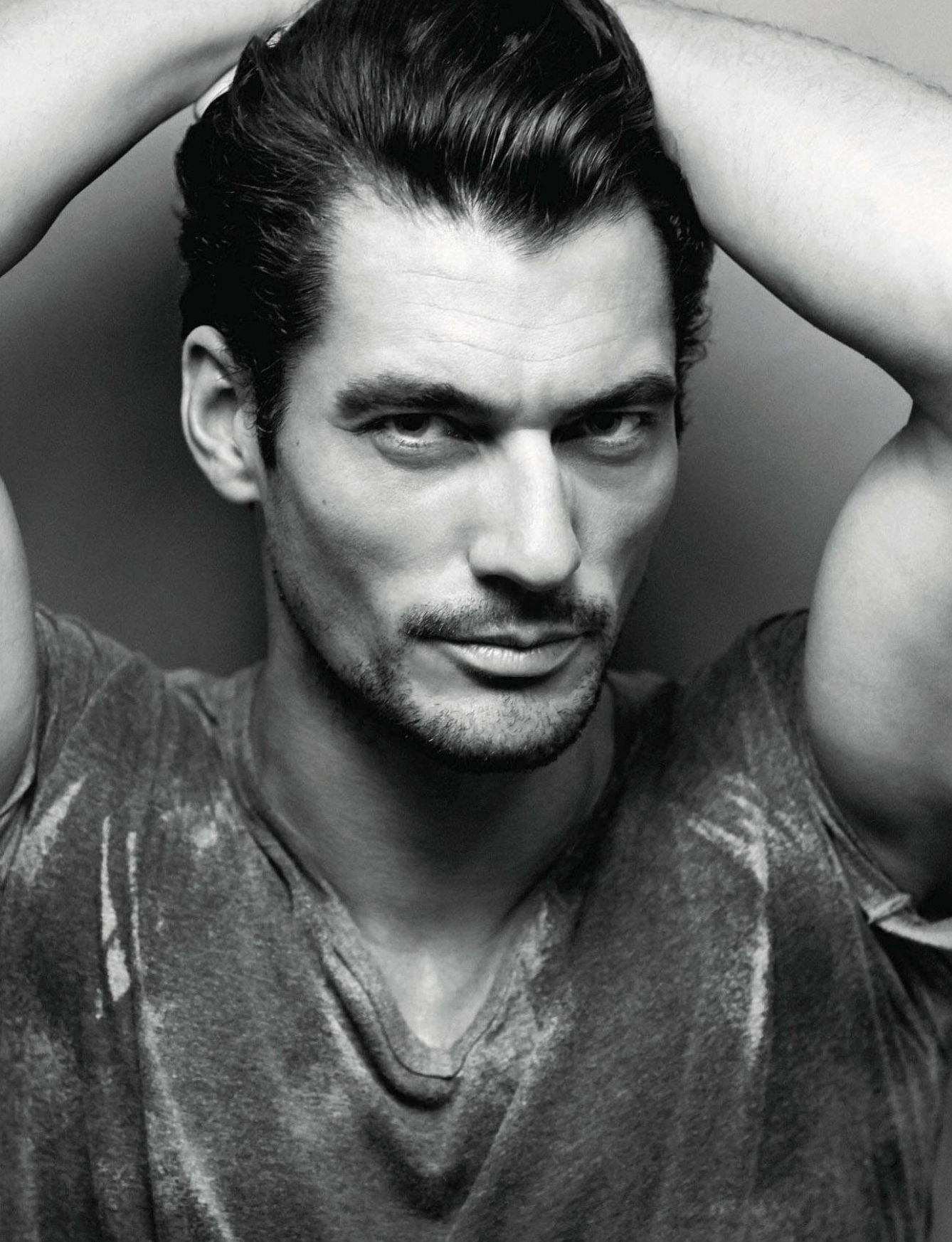 David Gandy Mesmerizes for Amica's Cover Story