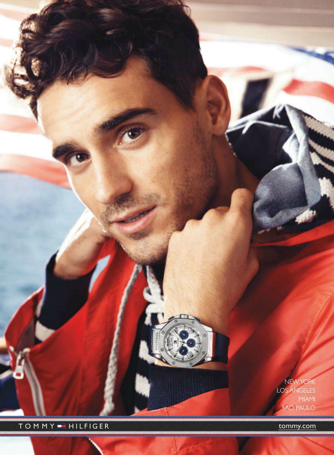 Craig McDean Captures Arthur Kulkov for Tommy Hilfiger Watches Campaign