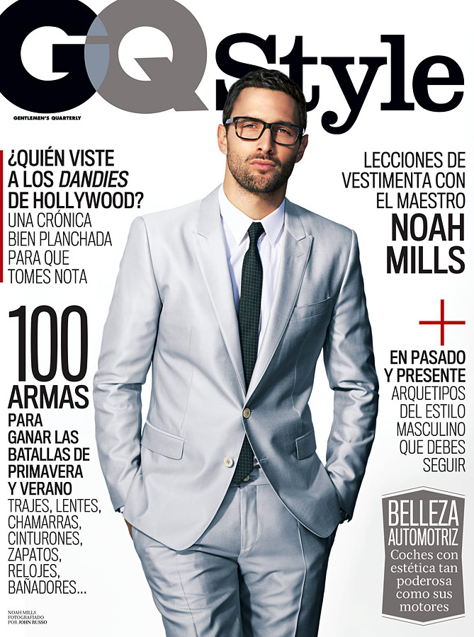 Noah Mills Covers GQ Style Mexico in Dolce & Gabbana