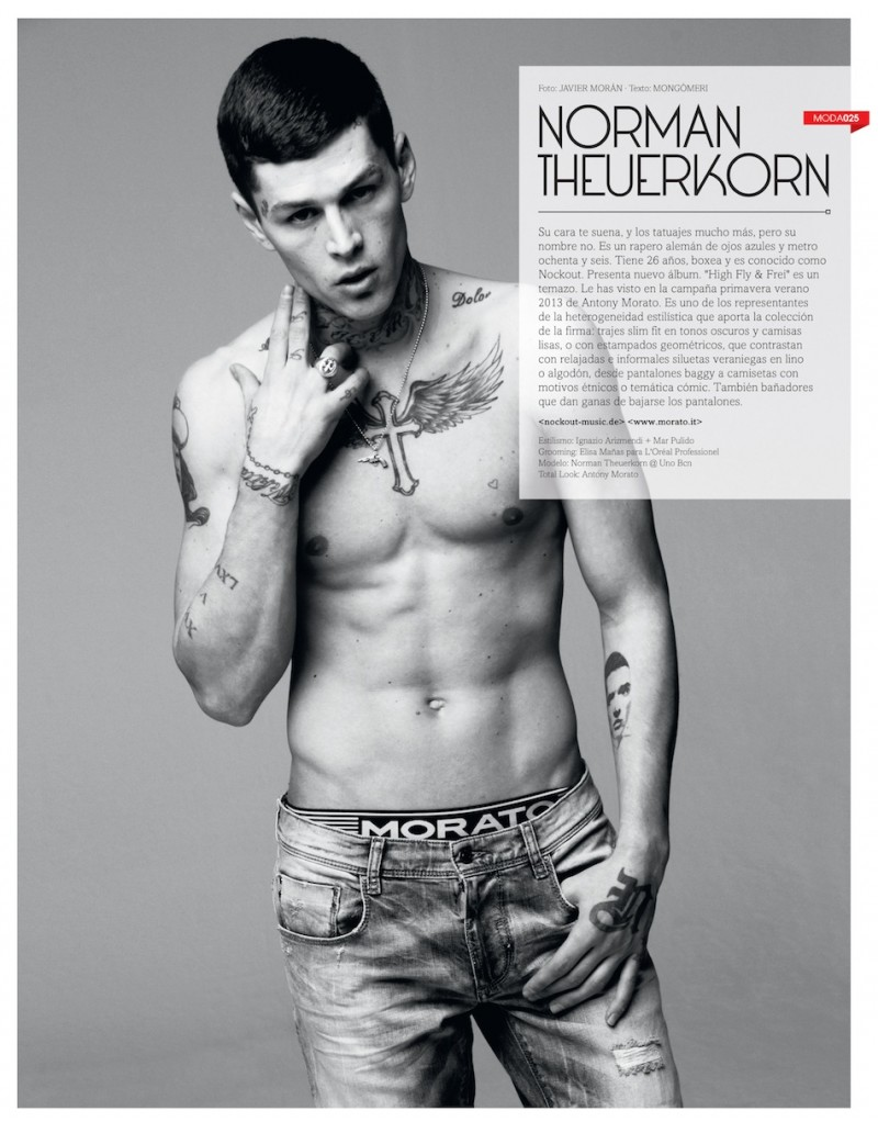 Male Models with Tattoos | Page 3 | The Fashionisto