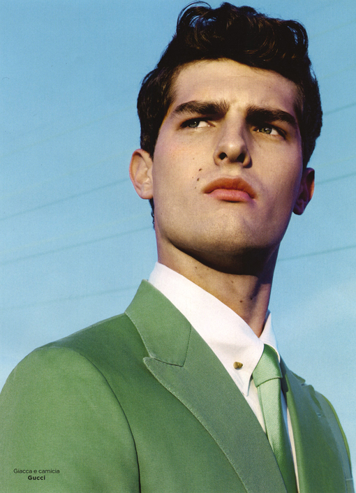 Paolo Anchisi has a Color Obsession for GQ Style Italia
