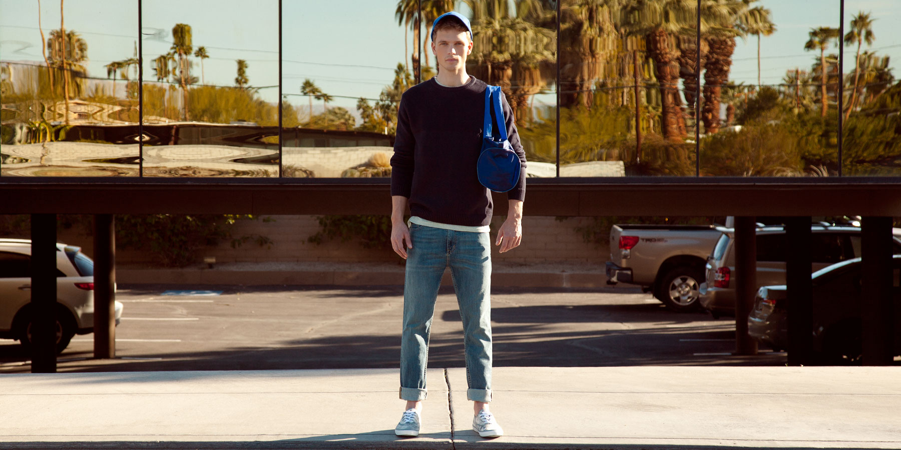 Benjamin Eidem Keeps it Casual for Pull & Bear's Heritage Collection