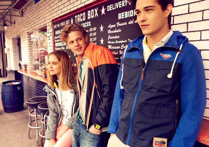 Beau Grealy Shoots Francisco Lachowski & Lenz Von Johnston for Pony Spring/Summer 2013 Campaign
