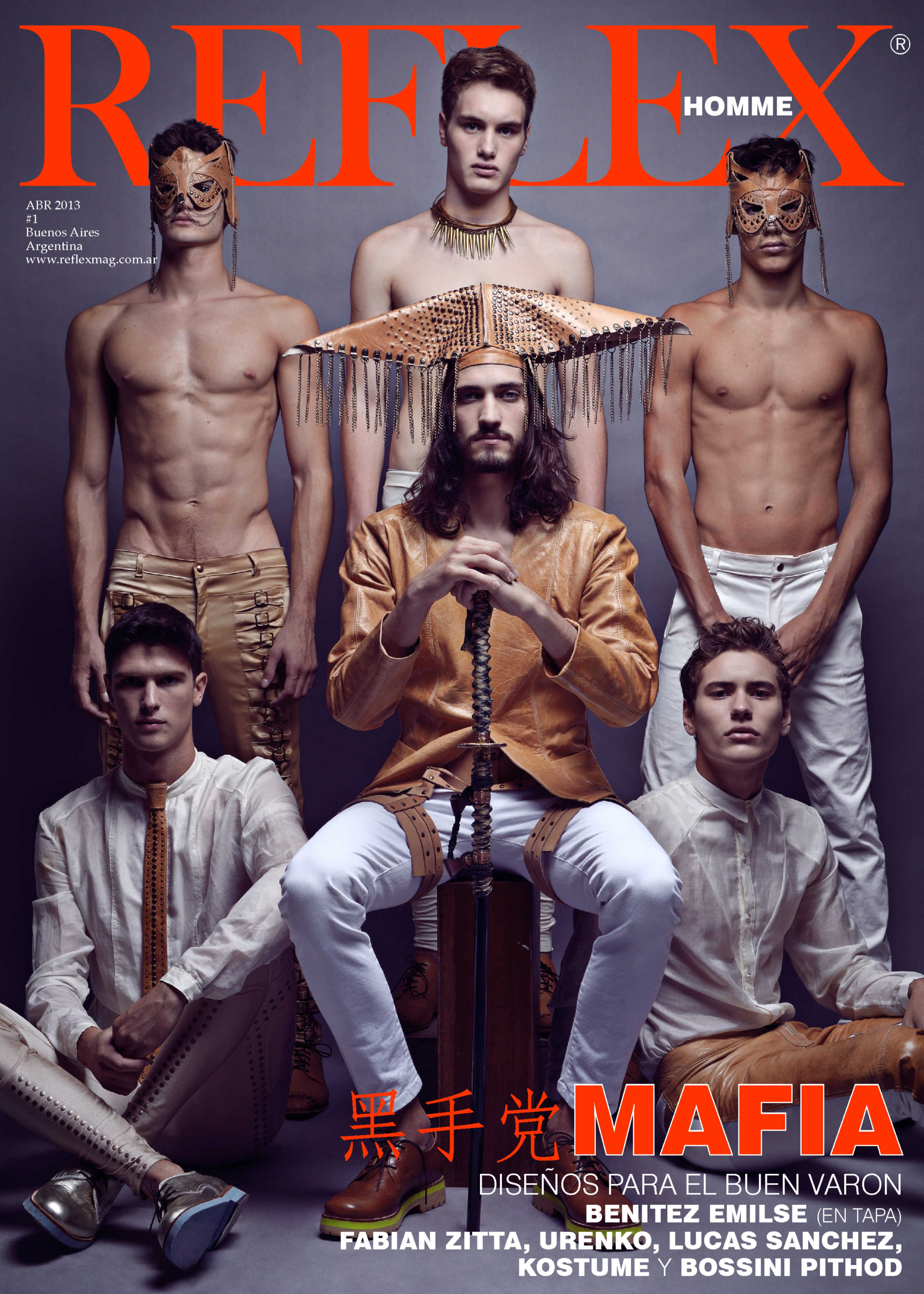 Andres Risso & Others Cover Reflex Homme