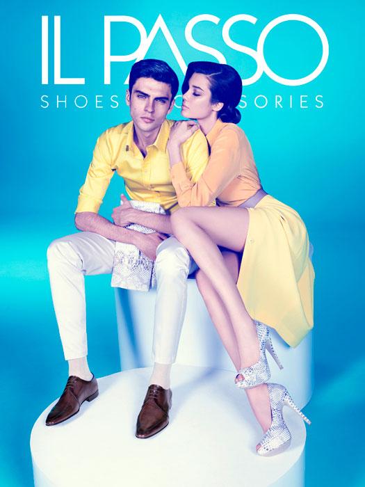 Silviu Tolu Stars in Il Passo's Colorful Spring/Summer 2013 Campaign
