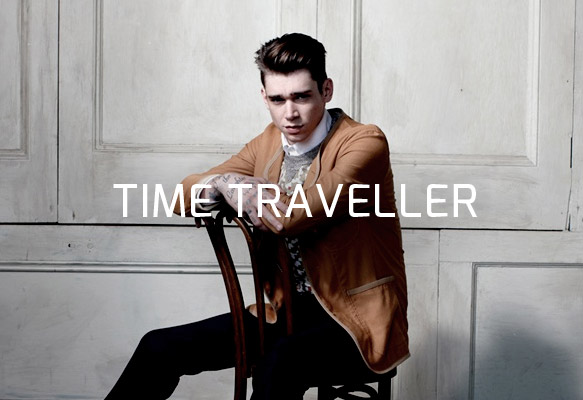 Cole Mohr Travels Through Time for Customellow's Spring/Summer 2013 Campaign