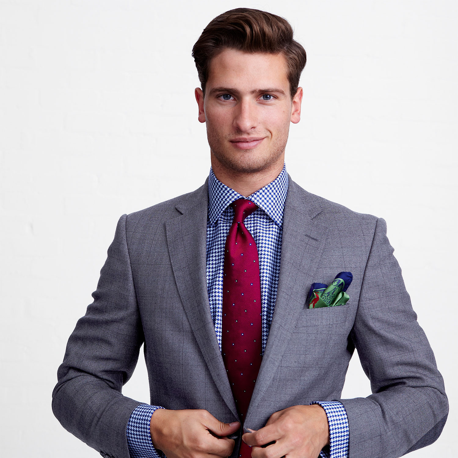 Tom Warren Models Thomas Pink's Spring/Summer 2013 Styles