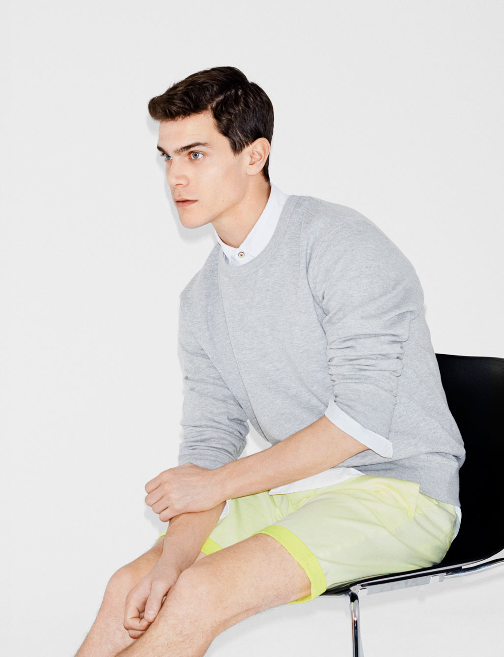 Justin Passmore & Vincent LaCrocq Model Spring Styles for Zara