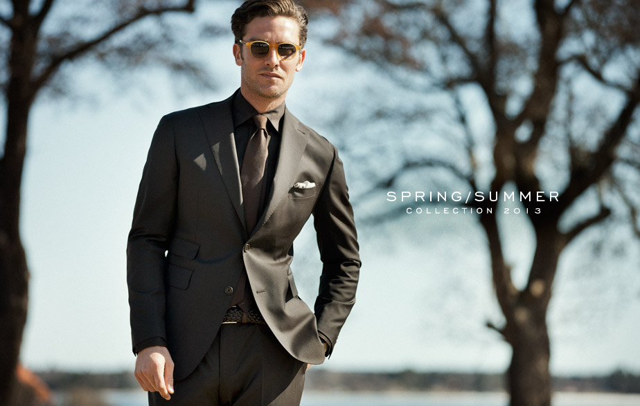 Andrew Burton Suits Up for Rose & Born's Spring/Summer 2013 Campaign