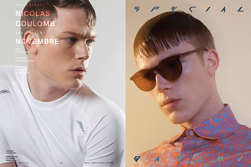 Nicolas Coulomb Snaps a New Wave Styled Tommy Kristiansen for Novembre