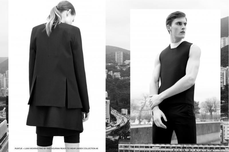 Luka Badnjar by Marco van Rijt for Fashionisto Exclusive