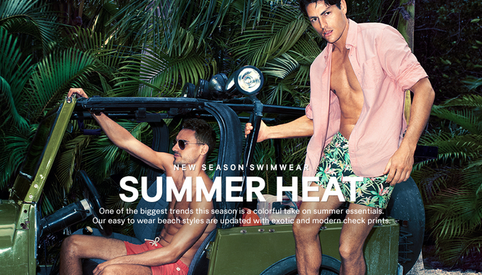 Arthur Kulkov & Tyson Ballou Bring the Summer Heat for H&M