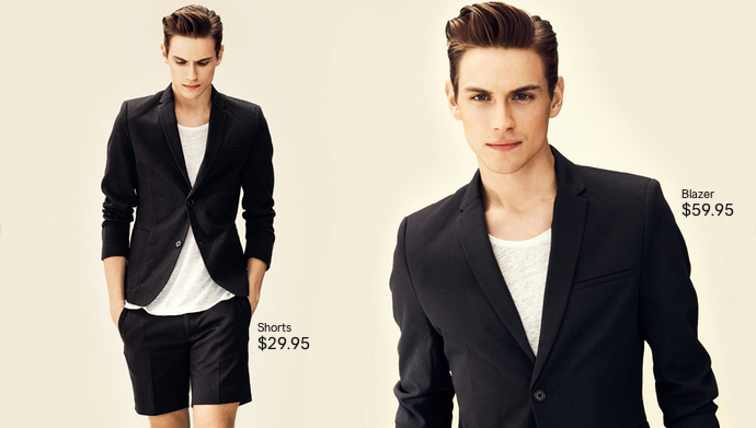 Victor Norlander Models 'Clean Cuts' for H&M
